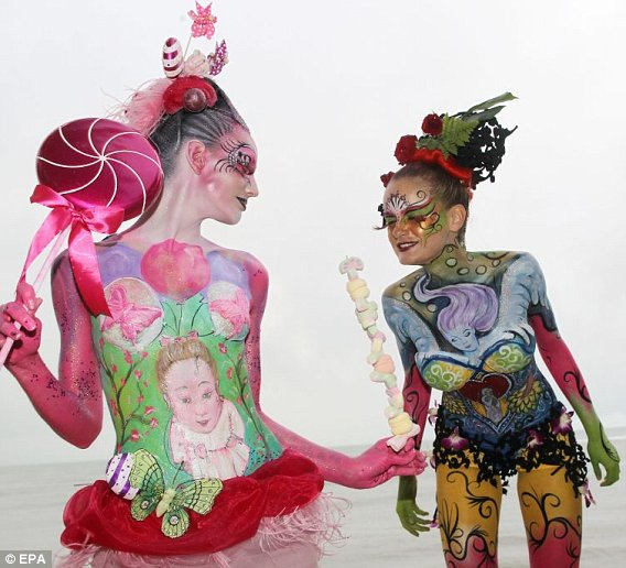 A Whole New Meaning To Body Art Zarasblogcentral